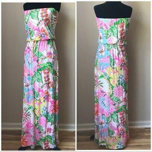 *LILLY PULITZER* for Target Nosey Posey Maxi Dress